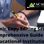 Academic Copy Editing Service: Things Worth to Know About It