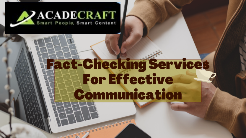 Fact-Checking Services For Effective Communication