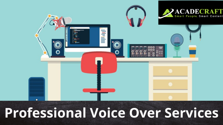 Professional Voice Over Services